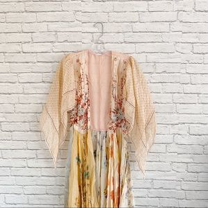 Vintage Silk Fairy Robe